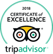 Trip Adviser Rev Certificate of Excellence