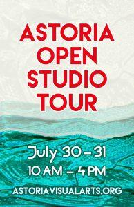 Astoria Open Studio Tour July 30-31 10 am - 4 pm